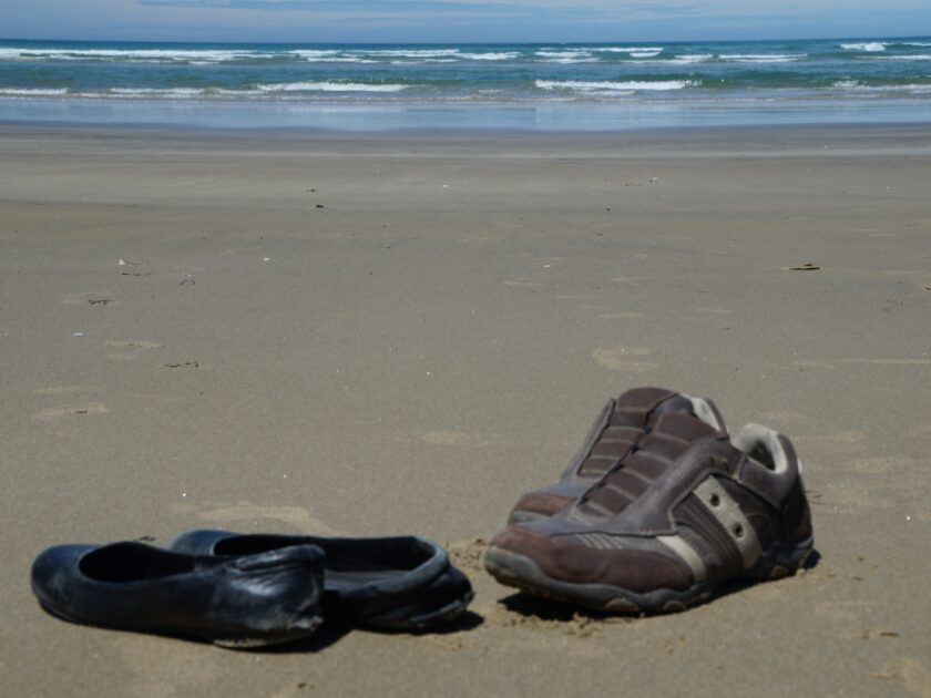 Shoes at Surat Bay